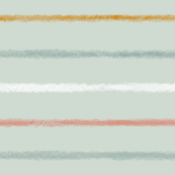 crayon stripe jersey fabric