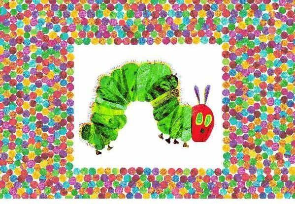 very hungry caterpillar panel