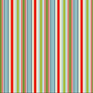 multi stripe christmas fabric
