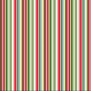 multi coloured christmas stripe